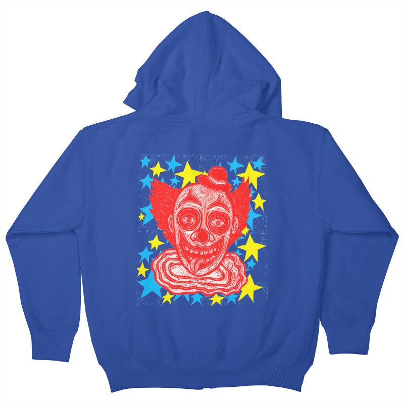 Clown Kids Zip-Up Hoody by Sean StarWars' Artist Shop