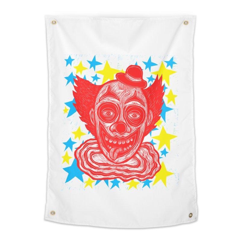 Clown Home Tapestry by Sean StarWars' Artist Shop