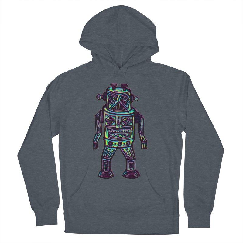 Robot z2 Men's French Terry Pullover Hoody by Sean StarWars' Artist Shop