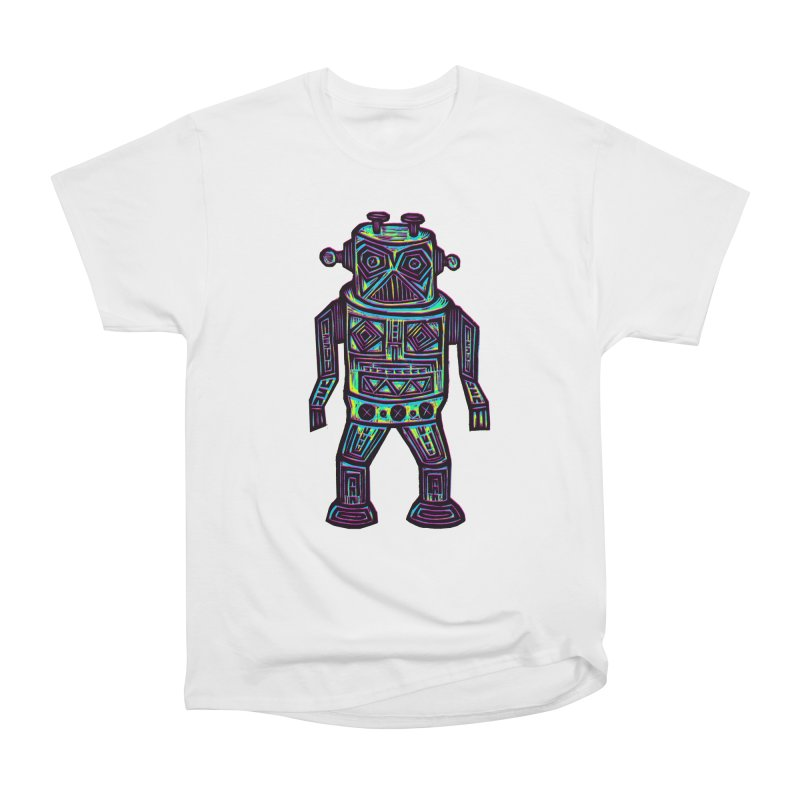 Robot z2 Women's Heavyweight Unisex T-Shirt by Sean StarWars' Artist Shop