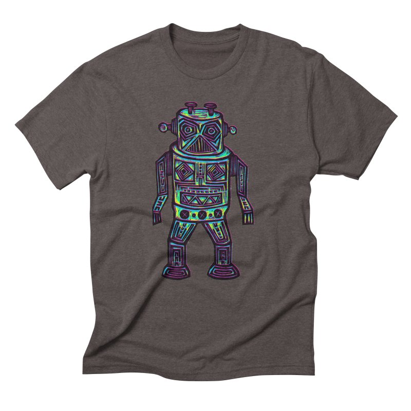 Robot z2 Men's Triblend T-Shirt by Sean StarWars' Artist Shop