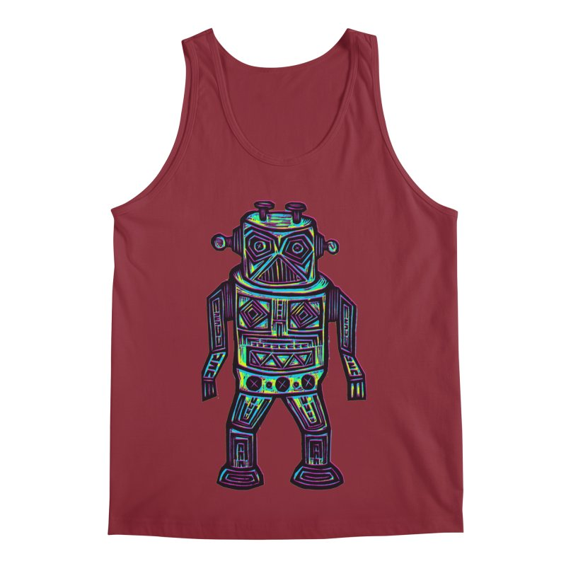Robot z2 Men's Regular Tank by Sean StarWars' Artist Shop