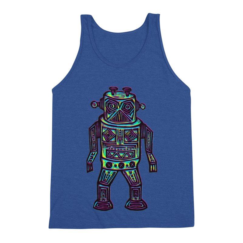 Robot z2 Men's Triblend Tank by Sean StarWars' Artist Shop