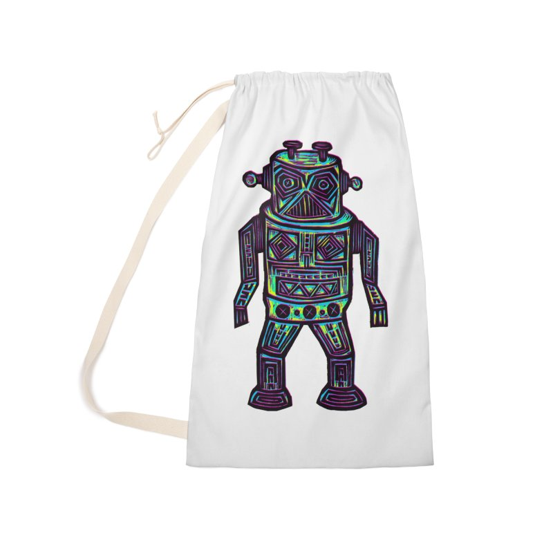 Robot z2 Accessories Laundry Bag Bag by Sean StarWars' Artist Shop