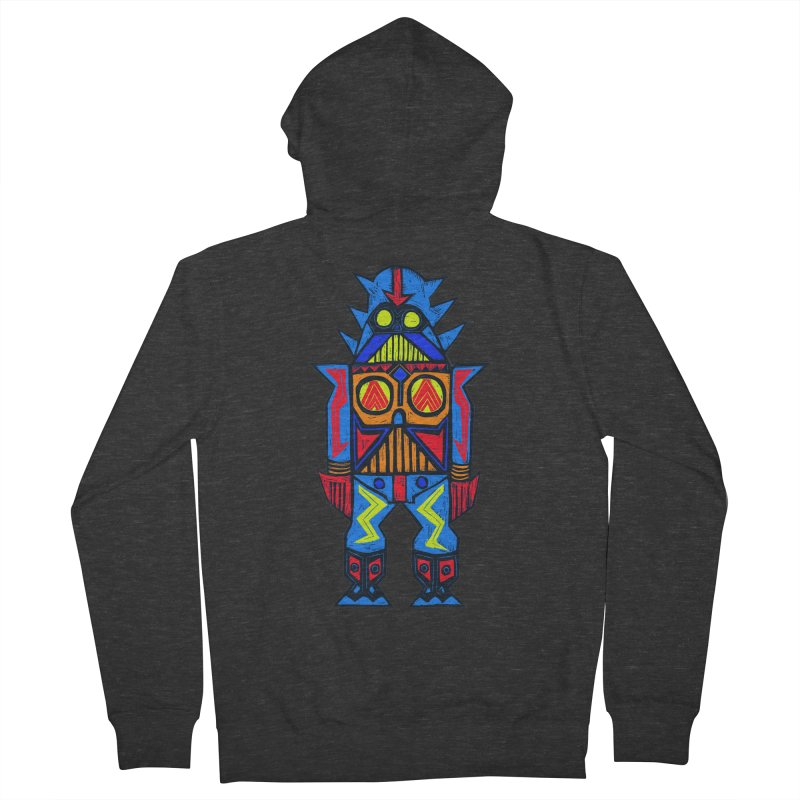 Shogun Vader Men's French Terry Zip-Up Hoody by Sean StarWars' Artist Shop