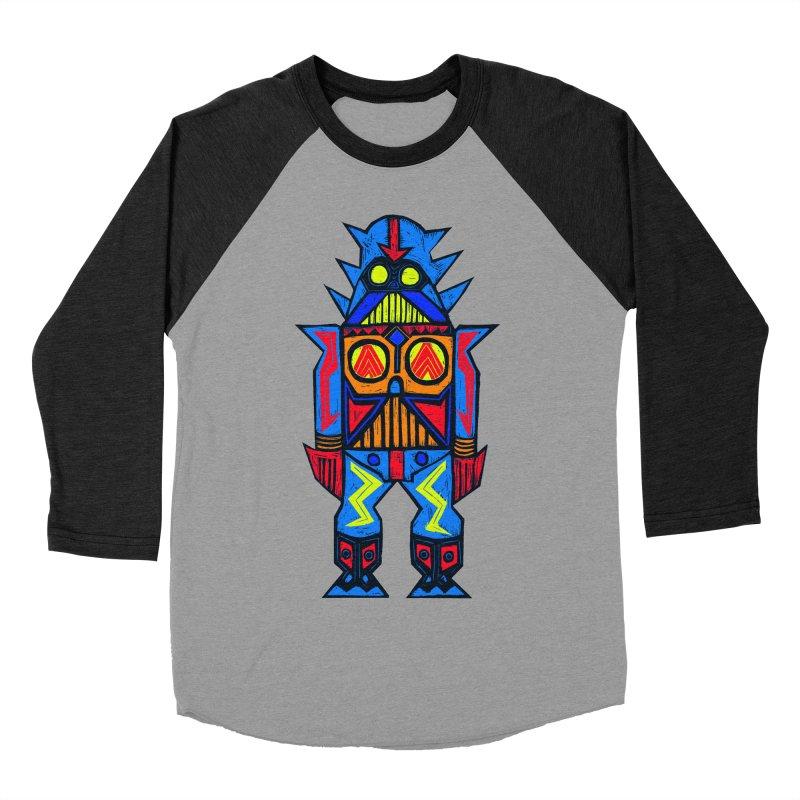 Shogun Vader Men's Baseball Triblend T-Shirt by Sean StarWars' Artist Shop