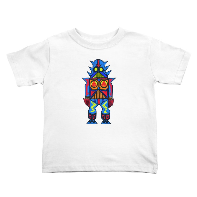 Shogun Vader Kids Toddler T-Shirt by Sean StarWars' Artist Shop