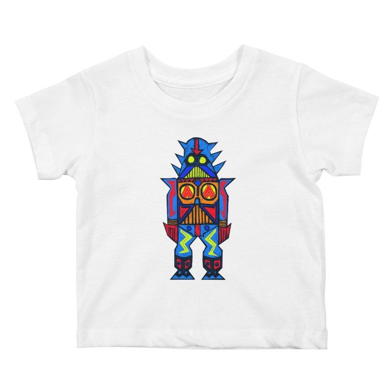 Shogun Vader Kids Baby T-Shirt by Sean StarWars' Artist Shop