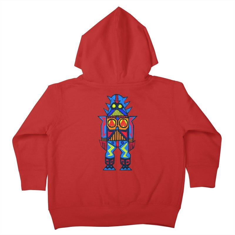 Shogun Vader Kids Toddler Zip-Up Hoody by Sean StarWars' Artist Shop