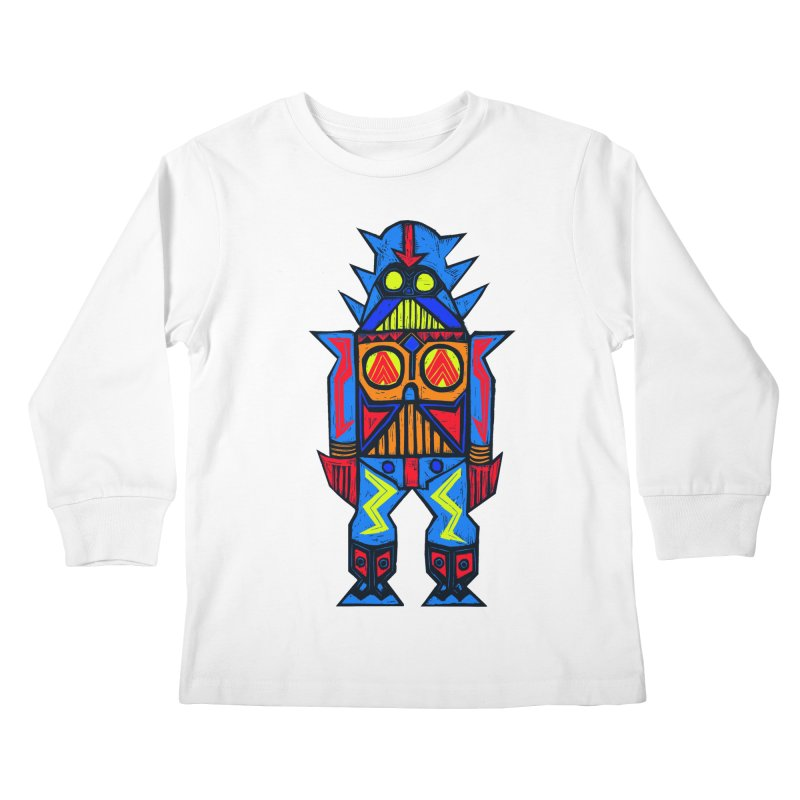 Shogun Vader Kids Longsleeve T-Shirt by Sean StarWars' Artist Shop