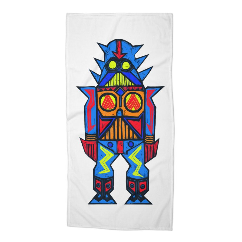 Shogun Vader Accessories Beach Towel by Sean StarWars' Artist Shop