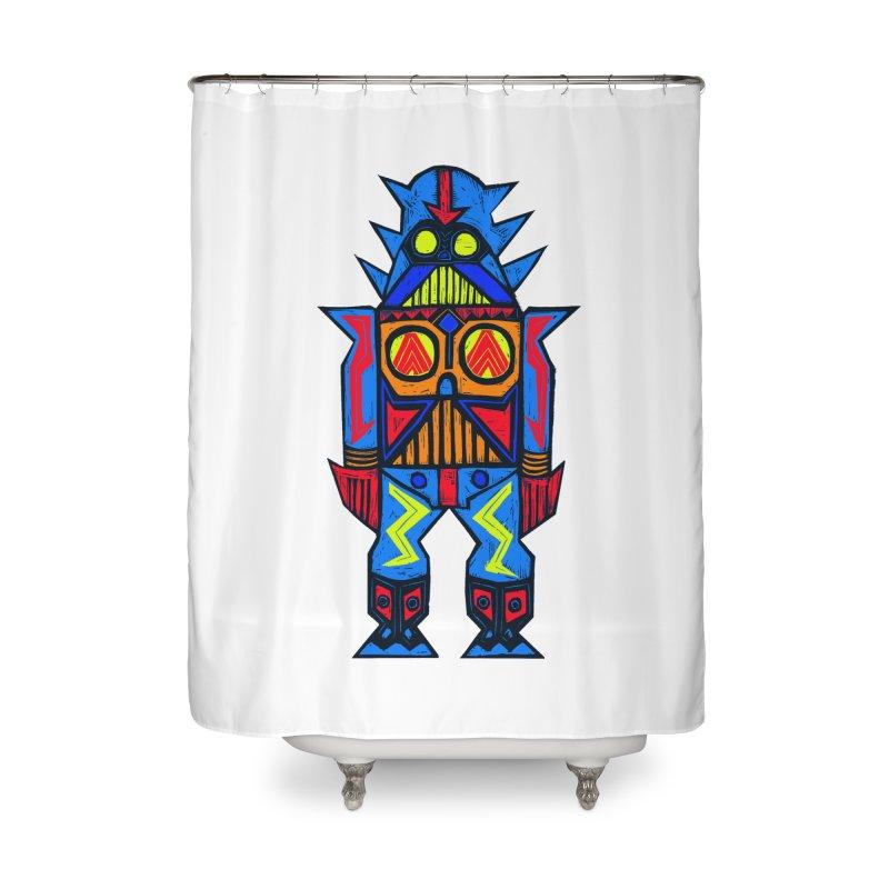 Shogun Vader Home Shower Curtain by Sean StarWars' Artist Shop
