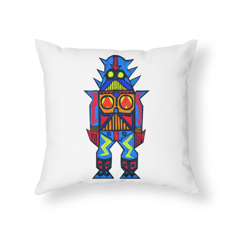 Shogun Vader Home Throw Pillow by Sean StarWars' Artist Shop