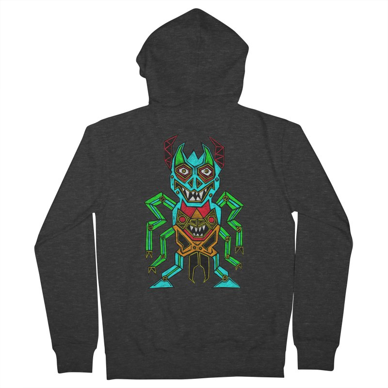 Warlord Men's French Terry Zip-Up Hoody by Sean StarWars' Artist Shop