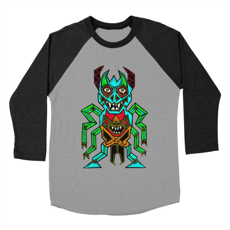 Warlord Women's Baseball Triblend Longsleeve T-Shirt by Sean StarWars' Artist Shop
