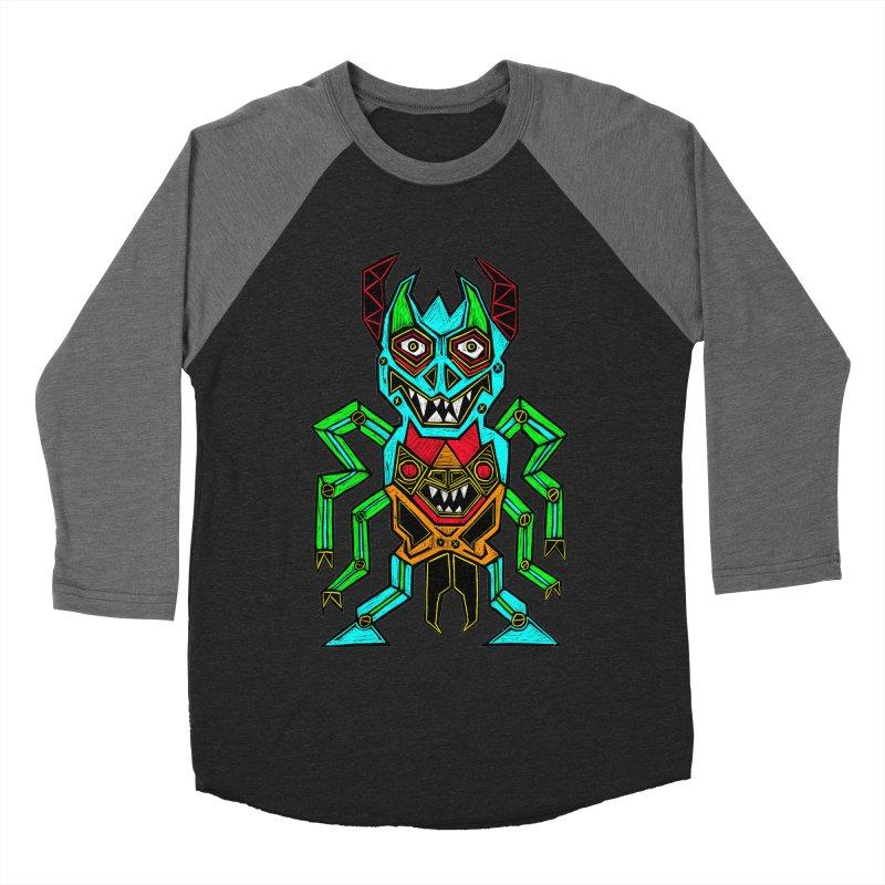 Warlord Men's Baseball Triblend Longsleeve T-Shirt by Sean StarWars' Artist Shop