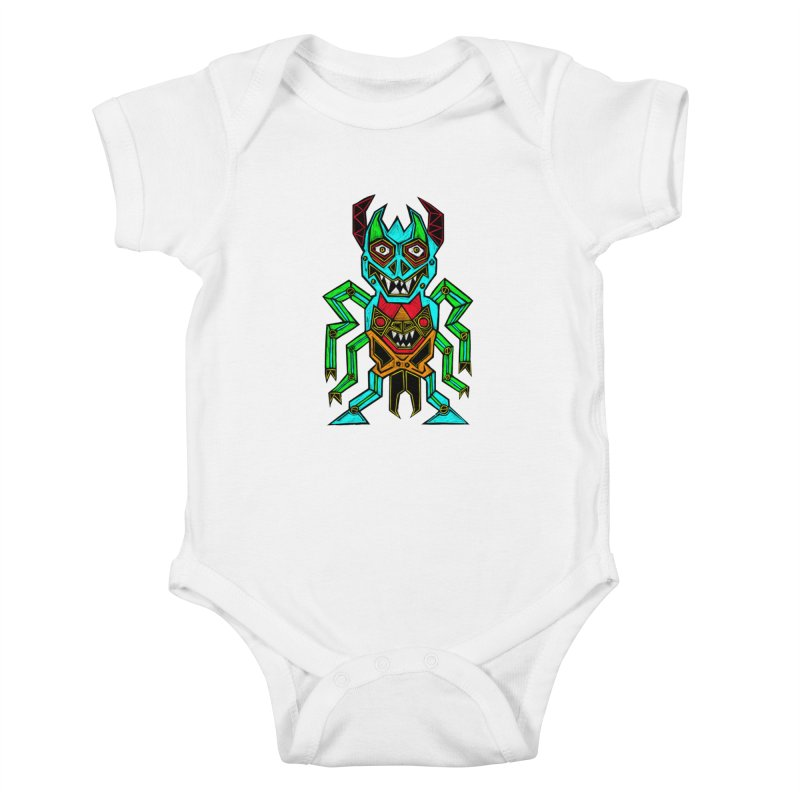 Warlord Kids Baby Bodysuit by Sean StarWars' Artist Shop