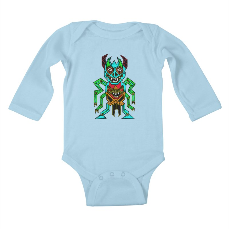 Warlord Kids Baby Longsleeve Bodysuit by Sean StarWars' Artist Shop