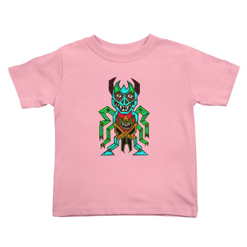 Warlord Kids Toddler T-Shirt by Sean StarWars' Artist Shop