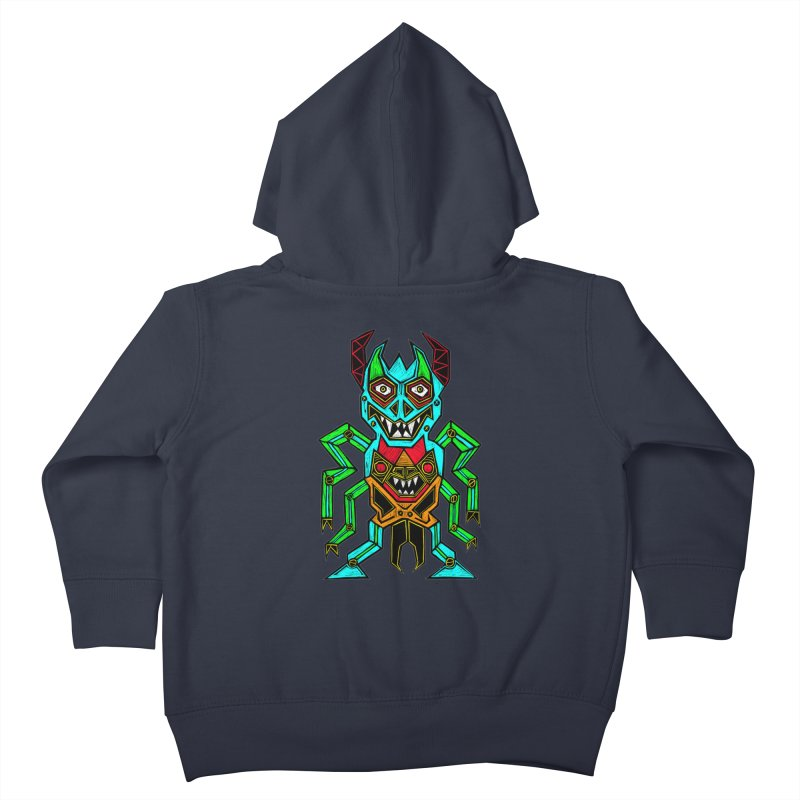 Warlord Kids Toddler Zip-Up Hoody by Sean StarWars' Artist Shop