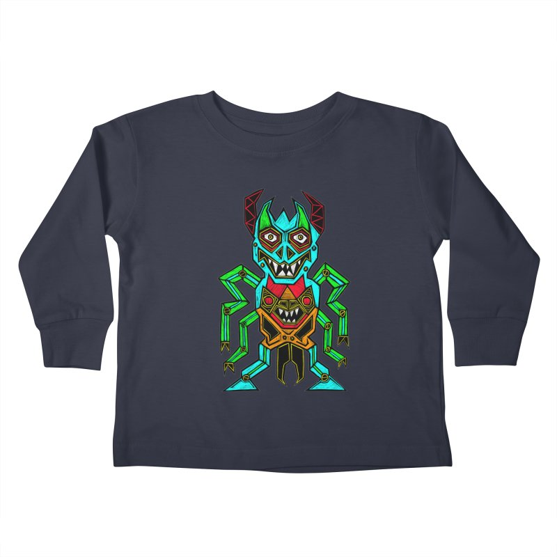Warlord Kids Toddler Longsleeve T-Shirt by Sean StarWars' Artist Shop