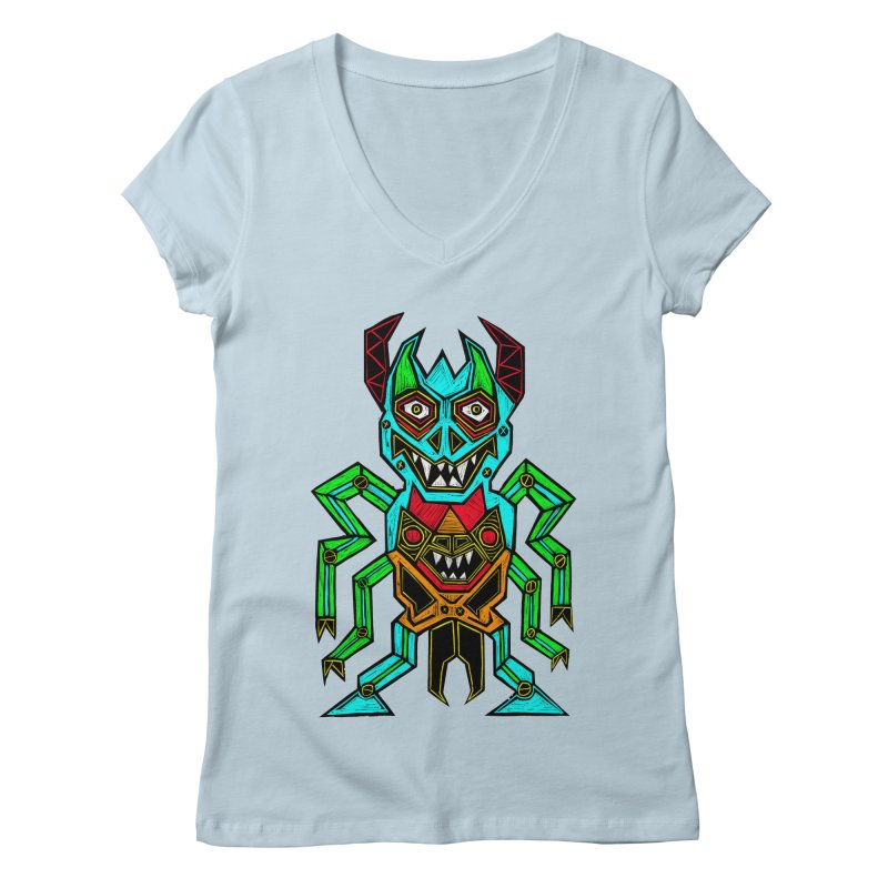 Warlord Women's V-Neck by Sean StarWars' Artist Shop