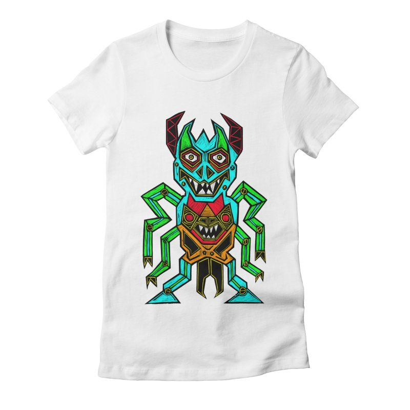 Warlord Women's Fitted T-Shirt by Sean StarWars' Artist Shop