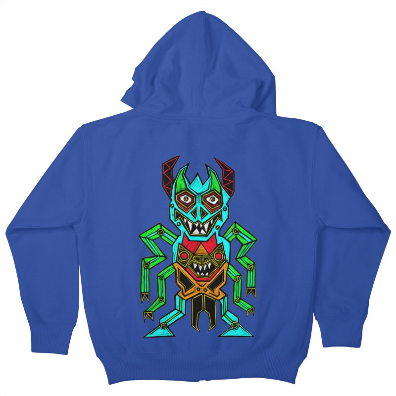 Warlord Kids Zip-Up Hoody by Sean StarWars' Artist Shop