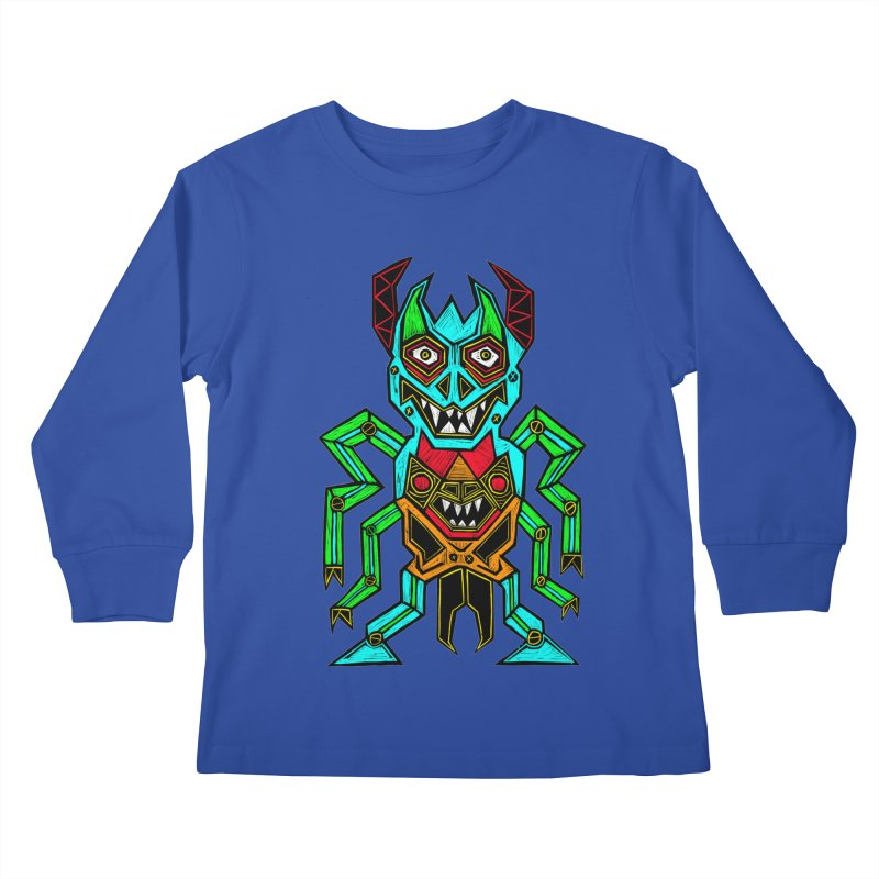 Warlord Kids Longsleeve T-Shirt by Sean StarWars' Artist Shop
