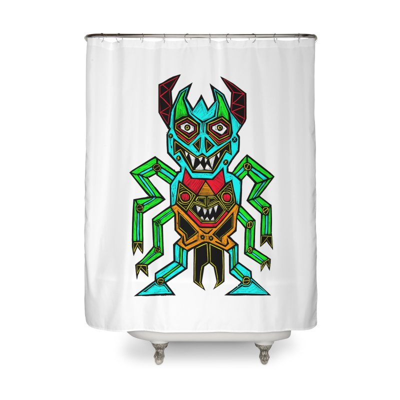 Warlord Home Shower Curtain by Sean StarWars' Artist Shop