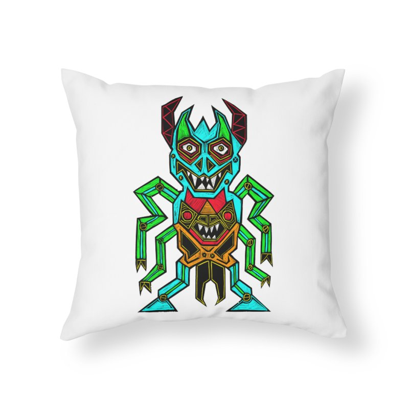 Warlord Home Throw Pillow by Sean StarWars' Artist Shop