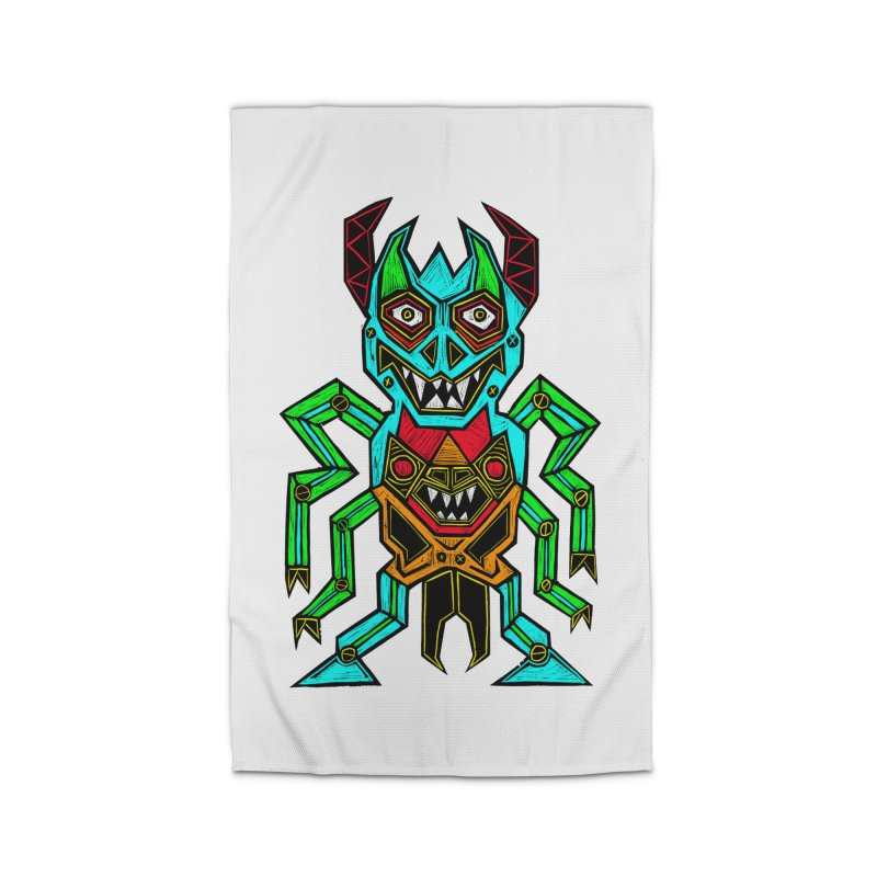 Warlord Home Rug by Sean StarWars' Artist Shop