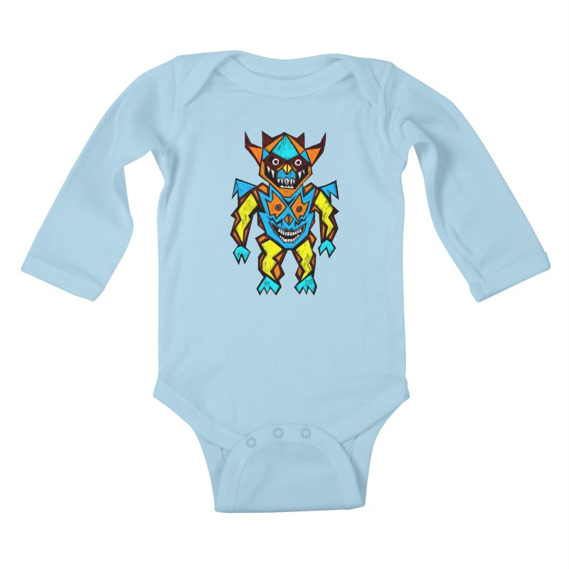 Battle Master Kids Baby Longsleeve Bodysuit by Sean StarWars' Artist Shop