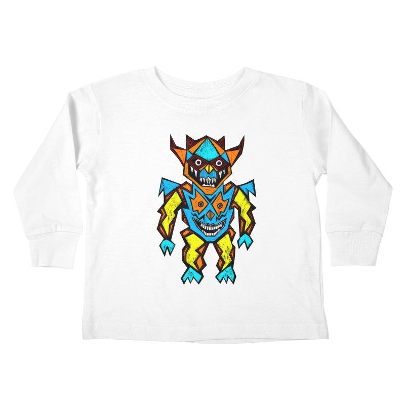 Battle Master Kids Toddler Longsleeve T-Shirt by Sean StarWars' Artist Shop
