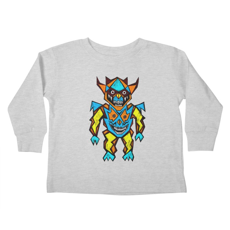 Battle Master Kids Toddler Longsleeve T-Shirt by Sean StarWars' Artist Shop