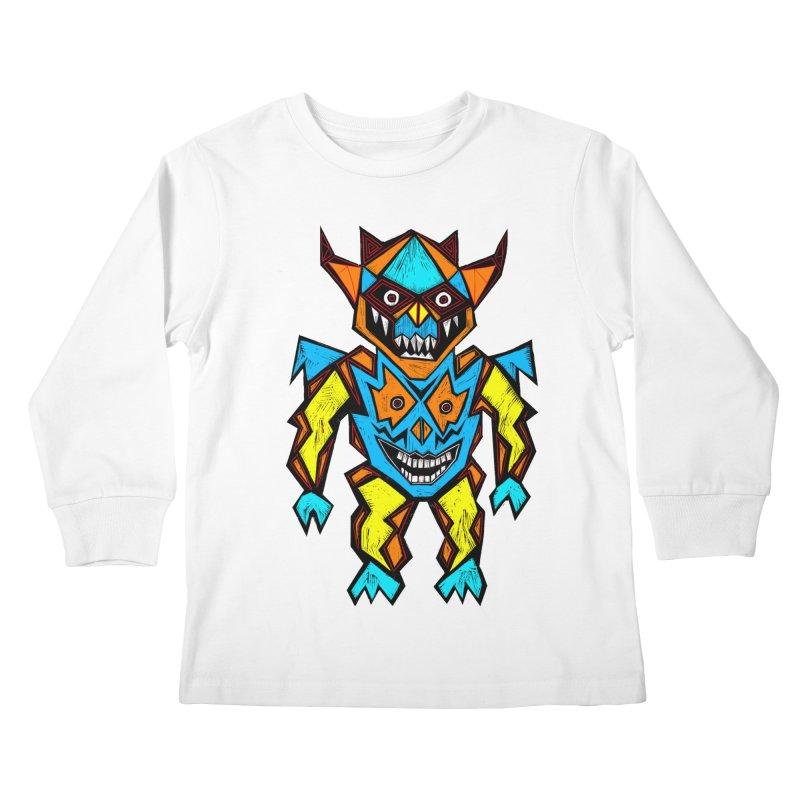 Battle Master Kids Longsleeve T-Shirt by Sean StarWars' Artist Shop