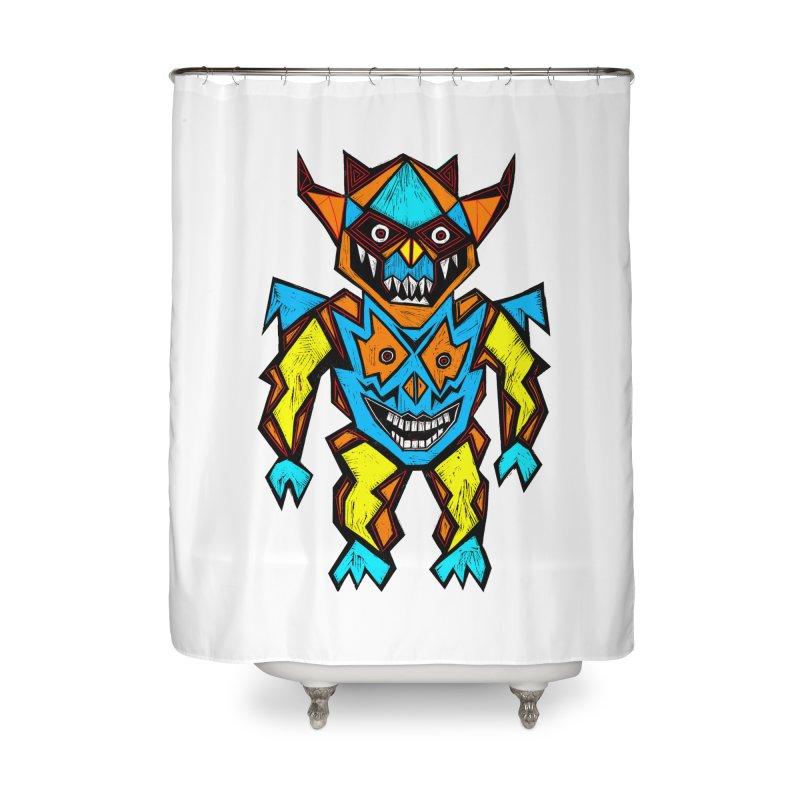 Battle Master Home Shower Curtain by Sean StarWars' Artist Shop