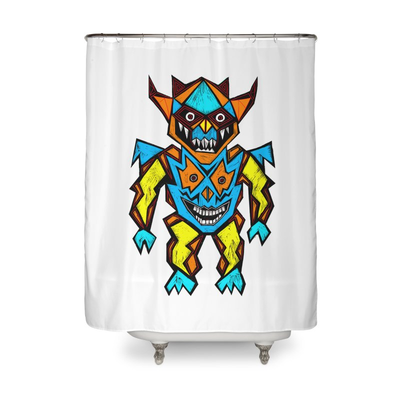 Battle Master Home Shower Curtain by Sean StarWars' Artist Shop