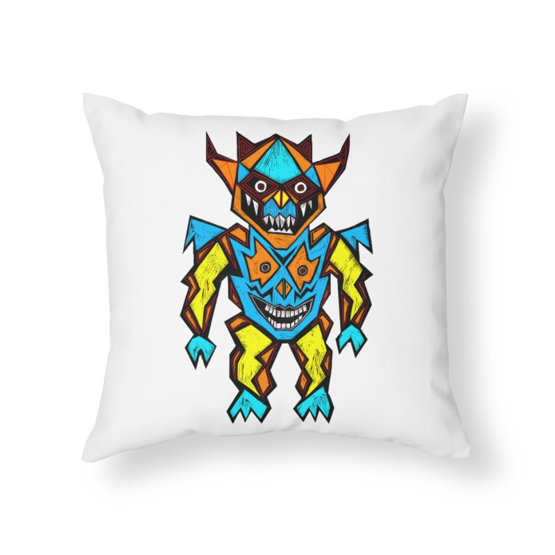 Battle Master Home Throw Pillow by Sean StarWars' Artist Shop