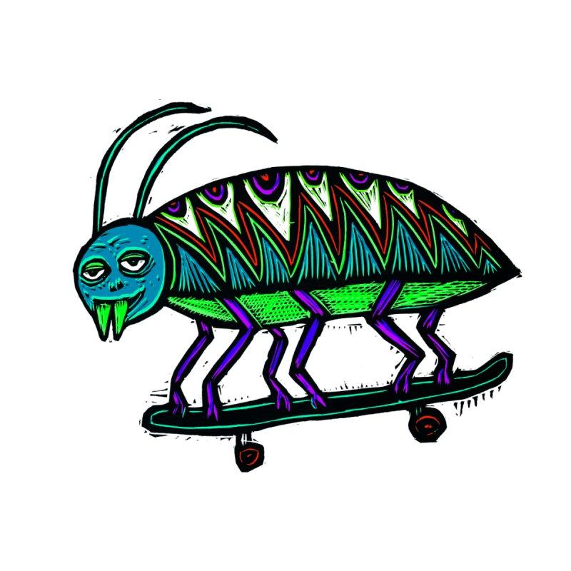 Skate Beetle Men's T-shirt by Sean StarWars' Artist Shop