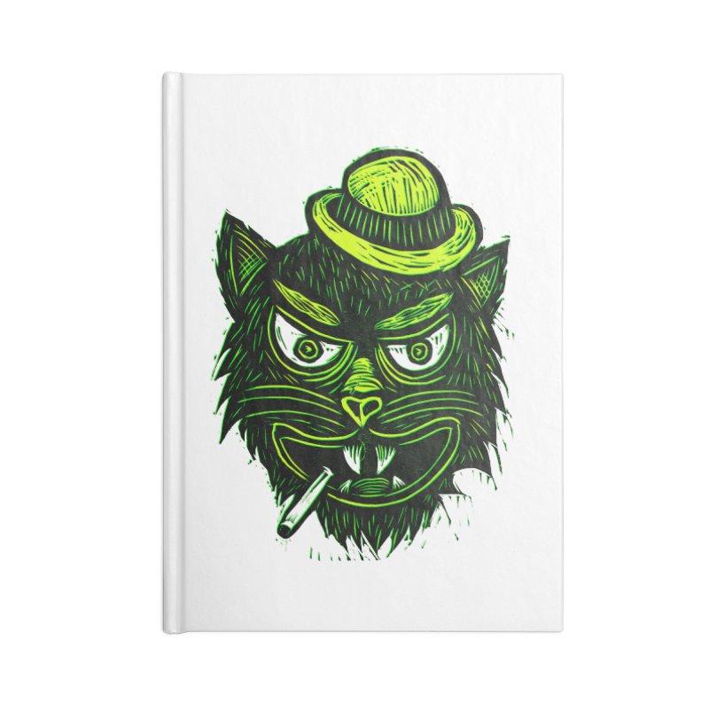Tough Cat Accessories Notebook by Sean StarWars' Artist Shop