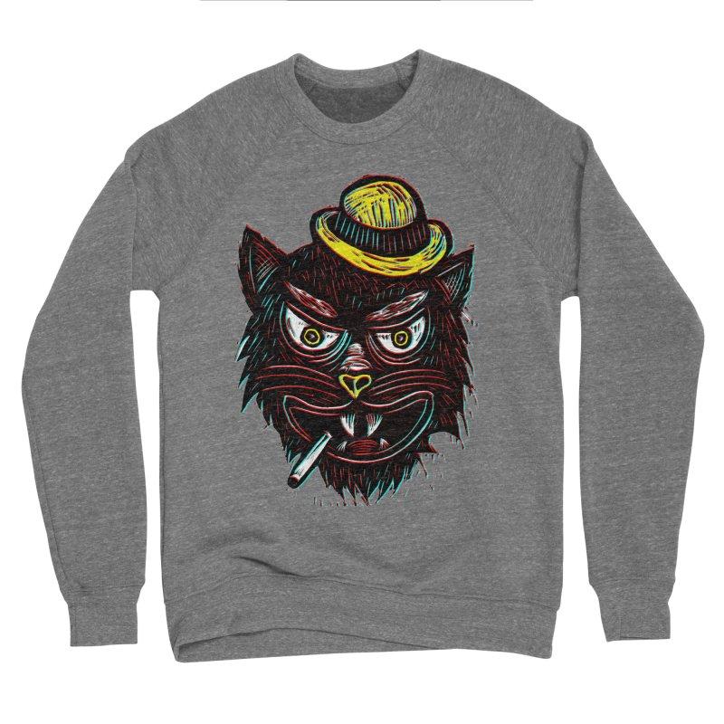 Tough Cat Women's Sponge Fleece Sweatshirt by Sean StarWars' Artist Shop