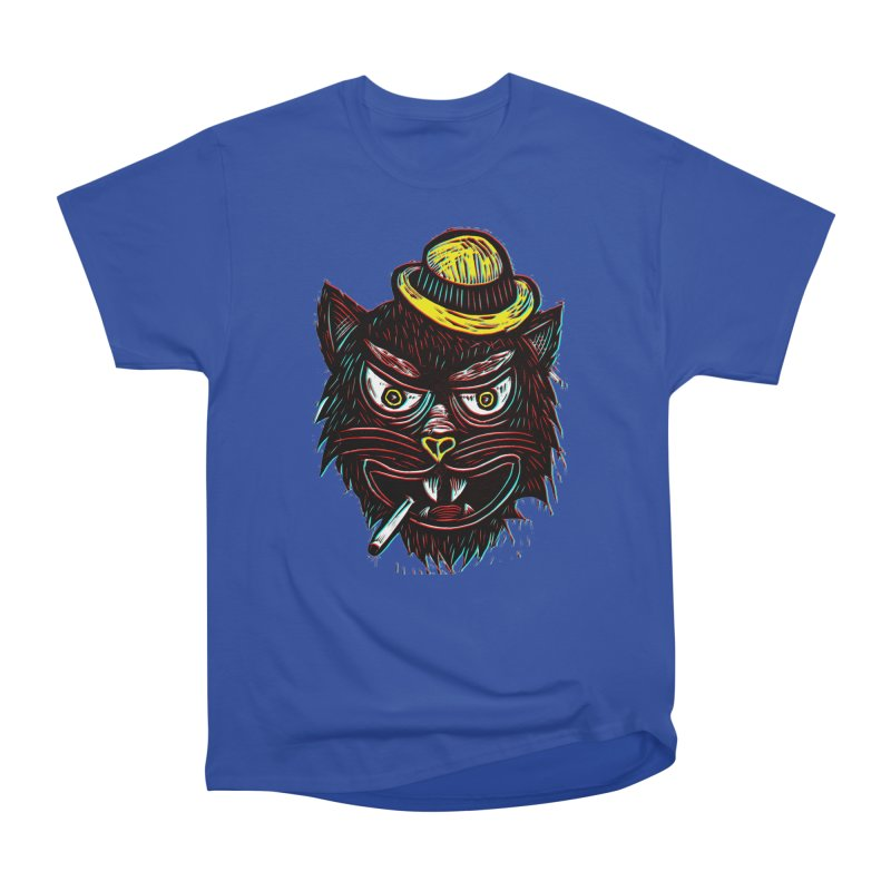 Tough Cat Men's T-Shirt by Sean StarWars' Artist Shop