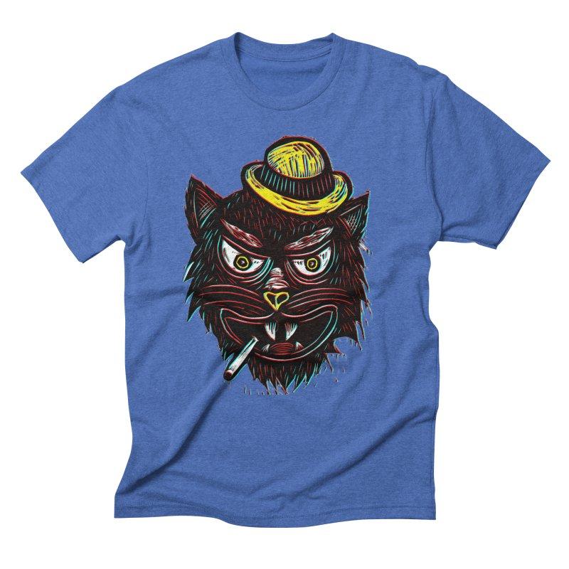 Tough Cat Men's Triblend T-Shirt by Sean StarWars' Artist Shop
