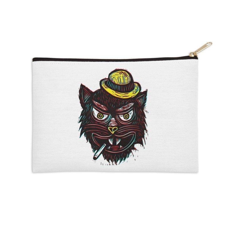 Tough Cat Accessories Zip Pouch by Sean StarWars' Artist Shop
