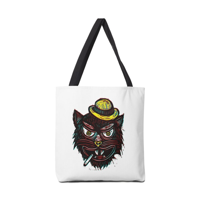 Tough Cat Accessories Bag by Sean StarWars' Artist Shop
