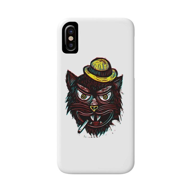 Tough Cat Accessories Phone Case by Sean StarWars' Artist Shop