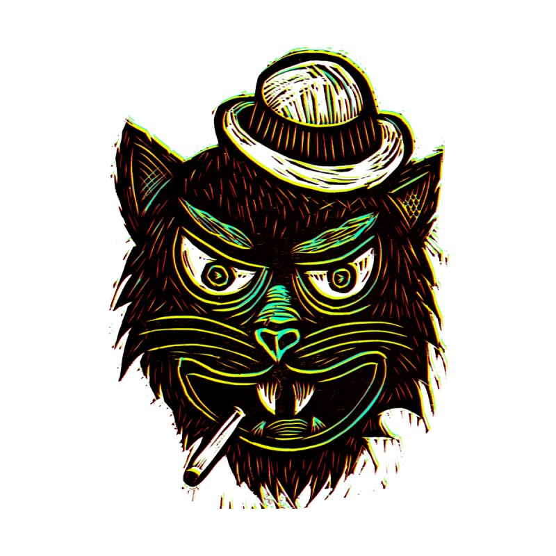 Tough Cat by Sean StarWars' Artist Shop