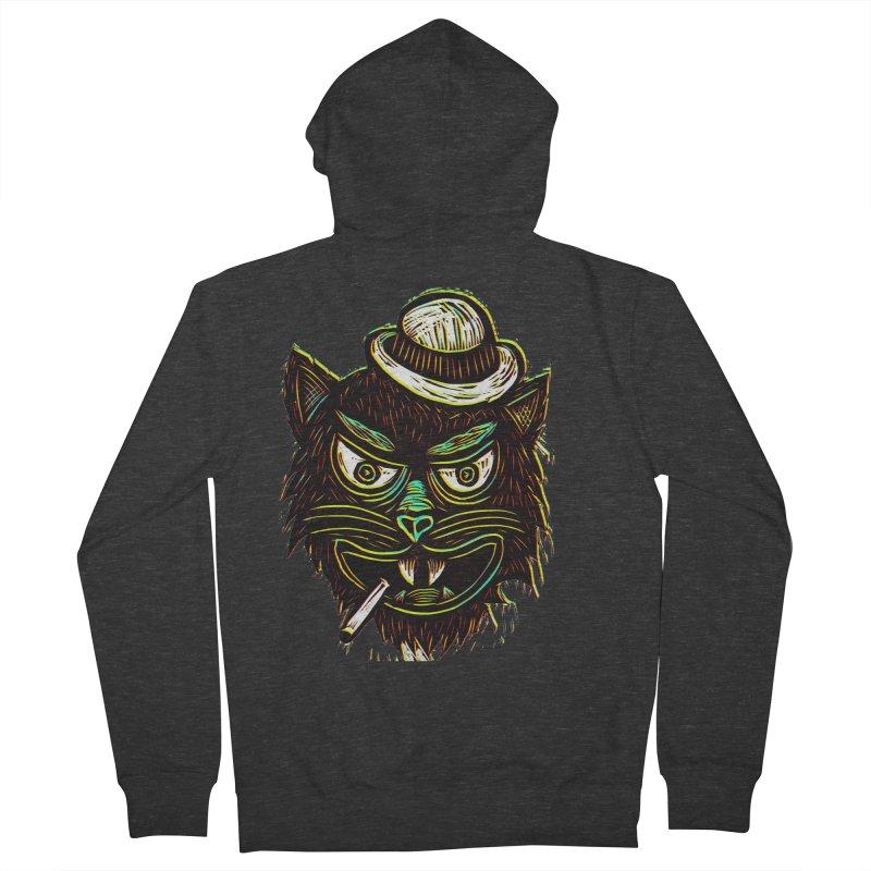 Tough Cat Women's Zip-Up Hoody by Sean StarWars' Artist Shop