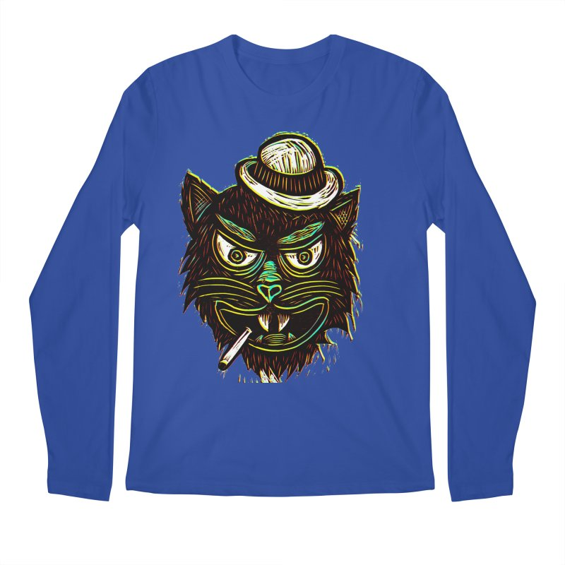 Tough Cat Men's Longsleeve T-Shirt by Sean StarWars' Artist Shop